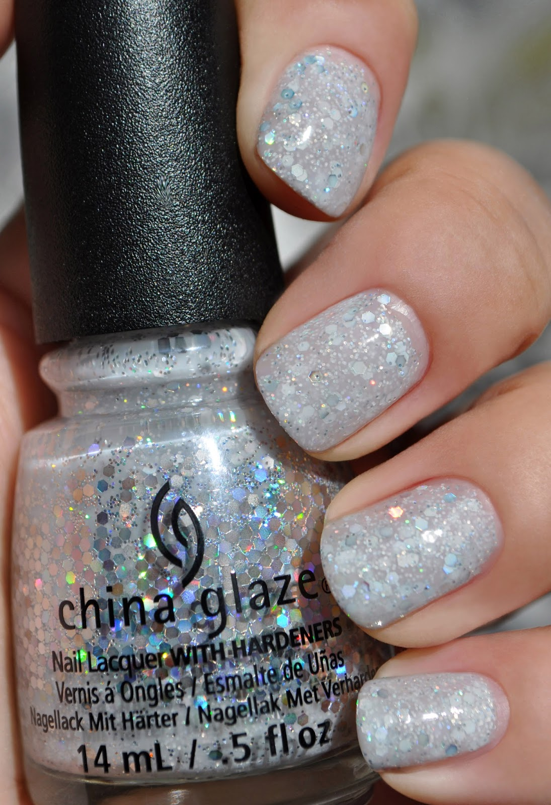 I Was Unable To Capture The Beautiful Sparkle Of Holographic Glitter