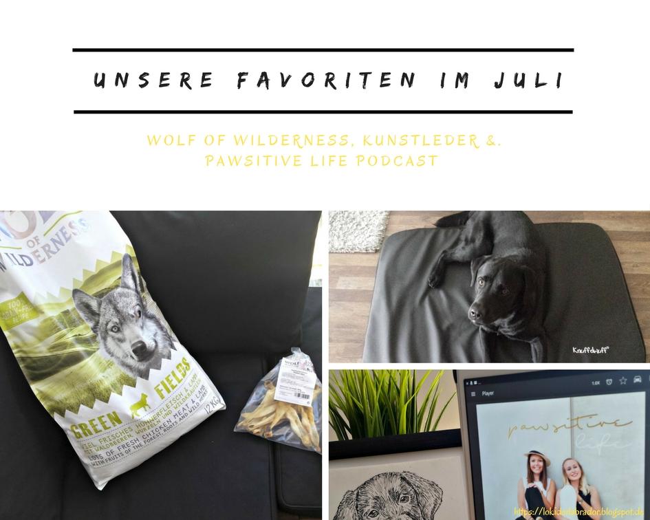 Fotocollage Monatsfavoriten Juli