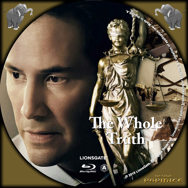 The Whole Truth Bluray Label