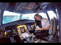 Perkenalkan, Patricia Yora si pilot cantik Garuda Indonesia