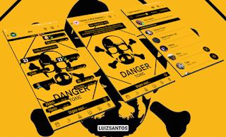 DANGER TOXIC Theme For GBWhatsApp By Luiz Santos