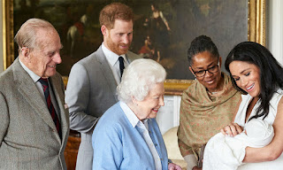 Meghan and Harry and Archie and Doria and the Queen and Prince Phillip