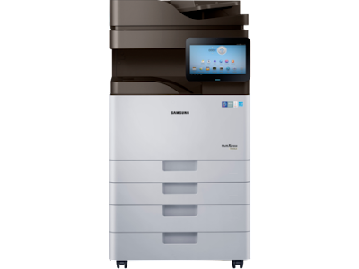 Improving the lineament of output as well as impress speed dark normal upwards to  Samsung Printer MultiXpress SL-K4350 Driver Downloads