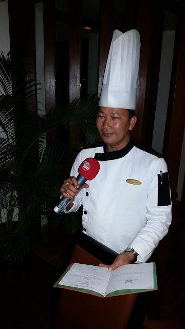 Im Gespräch mit dem Küchenchef des Royal Anchor Hotels