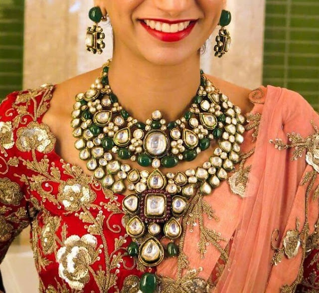 Heavy Kundan Set by Talwar Sons Jewellers