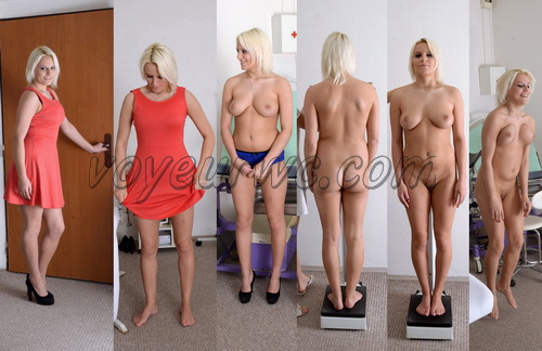 Gyno-clinic - Examination of a female patient (Lucy Shine 22 years)
