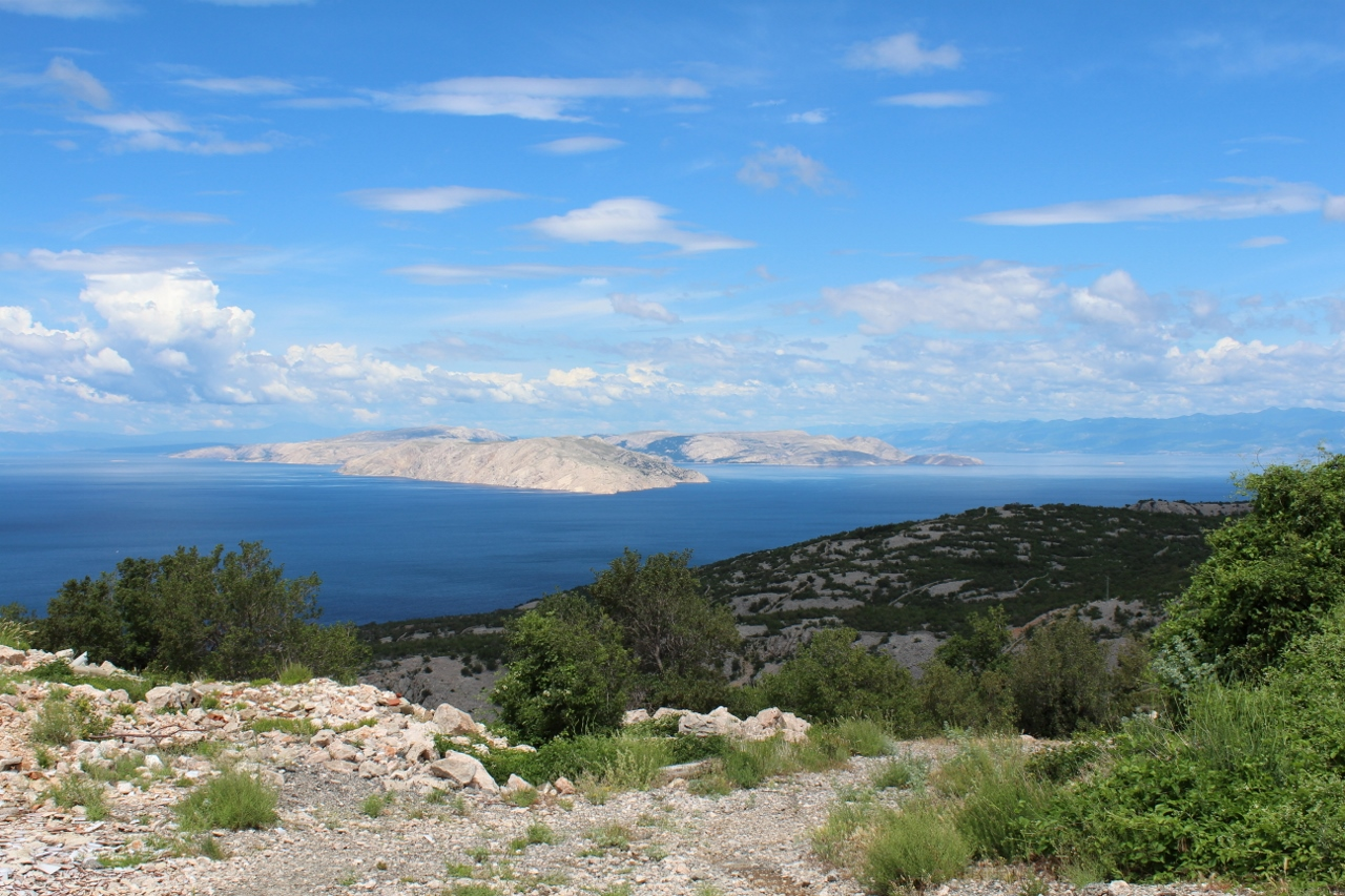 View of islands, Croatia