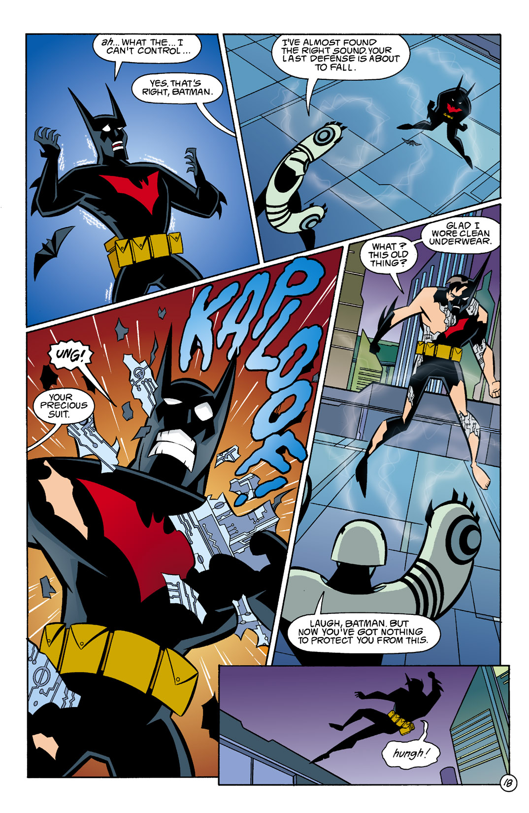 Batman Beyond [II] Issue #5 #5 - English 19