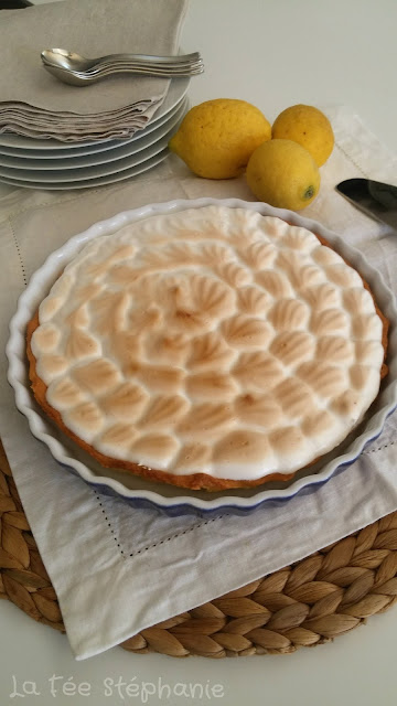 tarte au citron vegan.un dessert digne d'un grand pâtissier