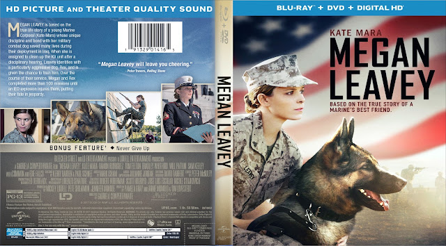 Megan Leavey Bluray Cover