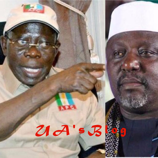 Posterity will judge you, Okorocha tells Oshiomhole