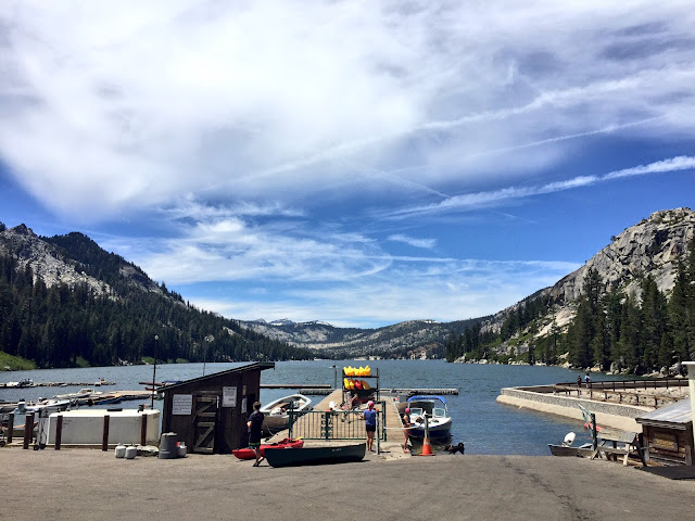 Lower Echo Lake Water Taxi view