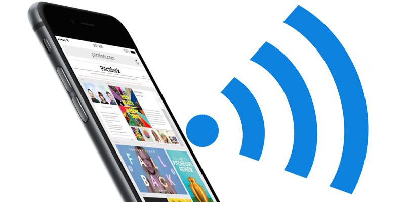 set wifi priority on iphone