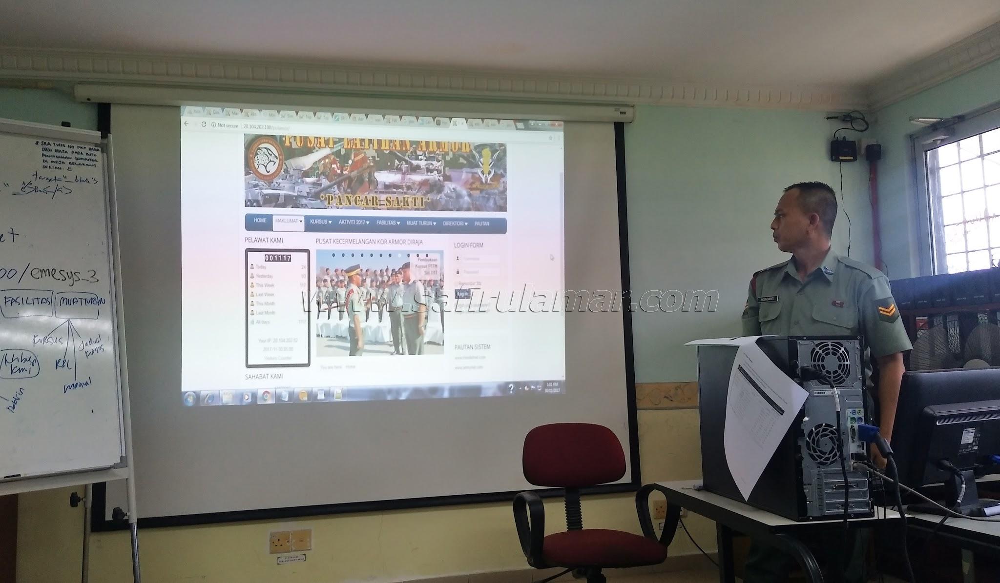 kursus laman web di IJED portdickson