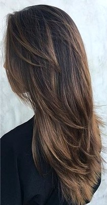 Model Rambut Layer Full Cut