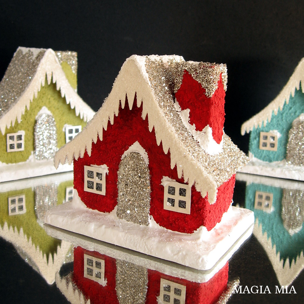 Magia Mia Oh What Fun Creating Putz Houses Playing With