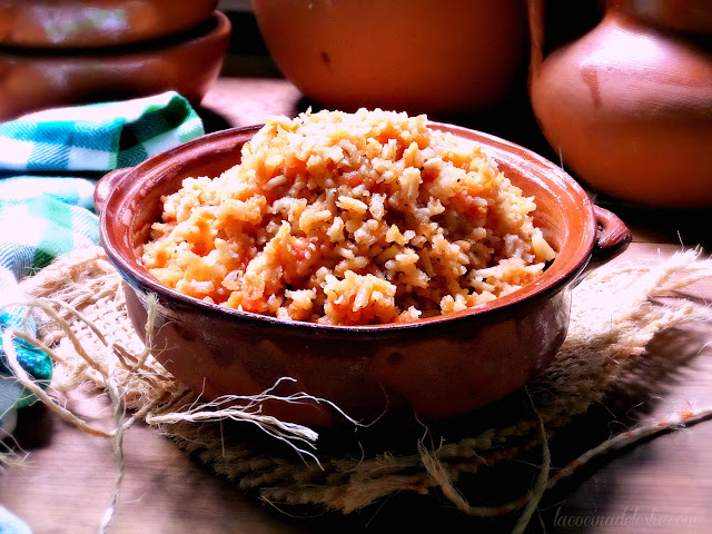 authentic mexican rice recipe - lacocinadeleslie.com