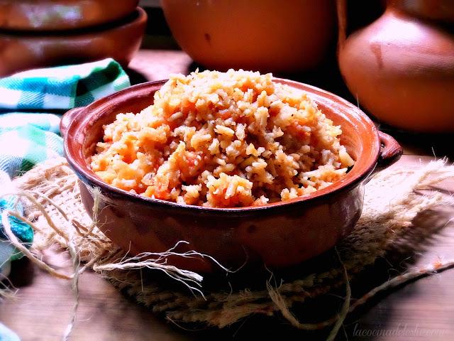 authentic mexican rice recipe - lacocinadeleslie.com