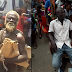 See before and after photos of man allegedly healed by a prophet on the street of Onitsha after 25 years of mental illness