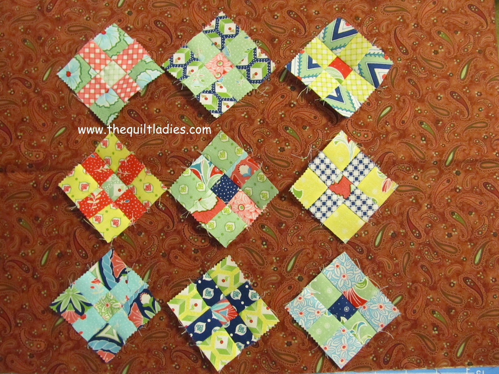 9-Patch Quilt Tutorial.