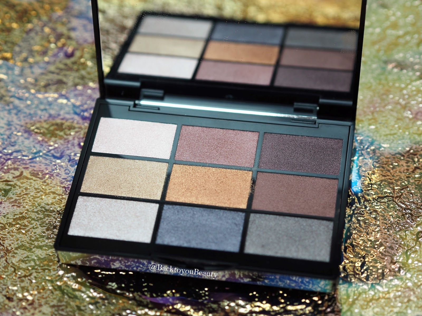 GOSH 9 Shades Eyeshadow Palette To Party In London
