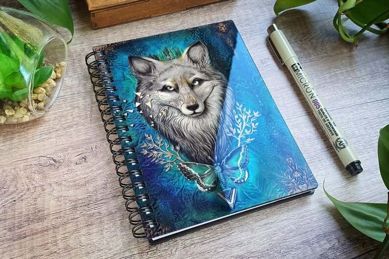 12-Wolf-Aniko-Kolesnikova-Animal-Fantasy-Journal-and-Book-Covers-www-designstack-co