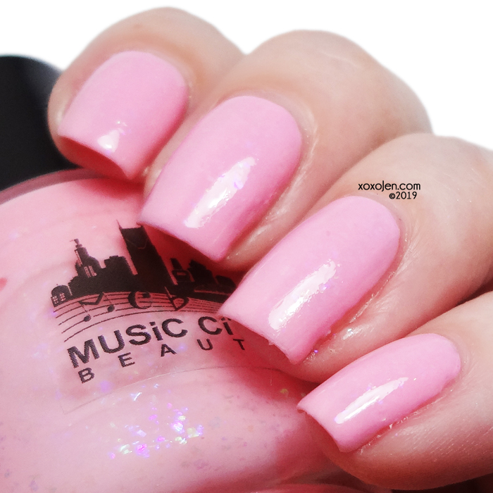 xoxoJen's swatch of Music City Beauty Tainted Love