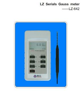alat uji magnet gaussmeter