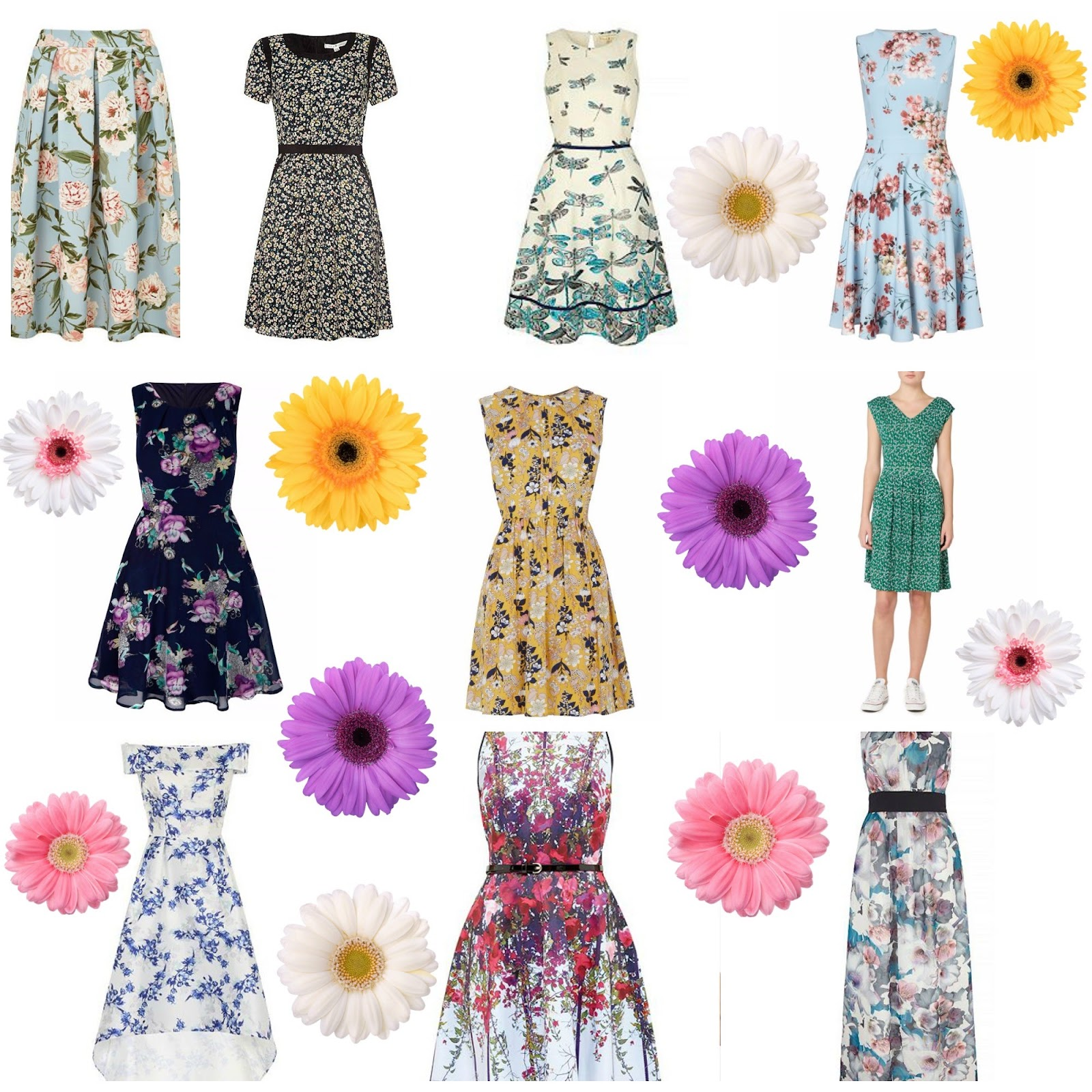 , Spring Fashion Wishlist:  Floral Dresses #SS16
