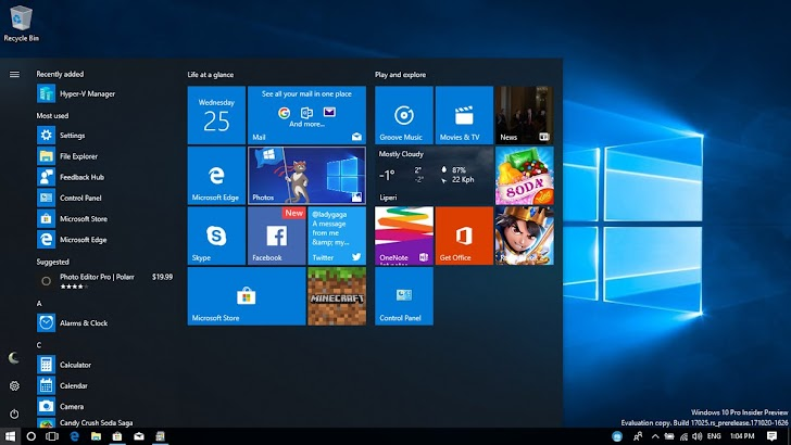 5 Feature Terbaik Windows 10 Spring Creators Update