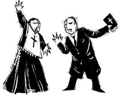 PT joga católicos contra protestantes