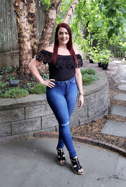 OOTD: Black Lace Dirty Thirty