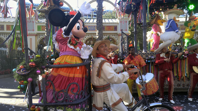 Disney's California Adventure Viva Navidad street party