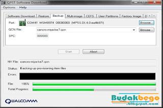 Tool Untuk Eksekusi File QCN All Qualcomm