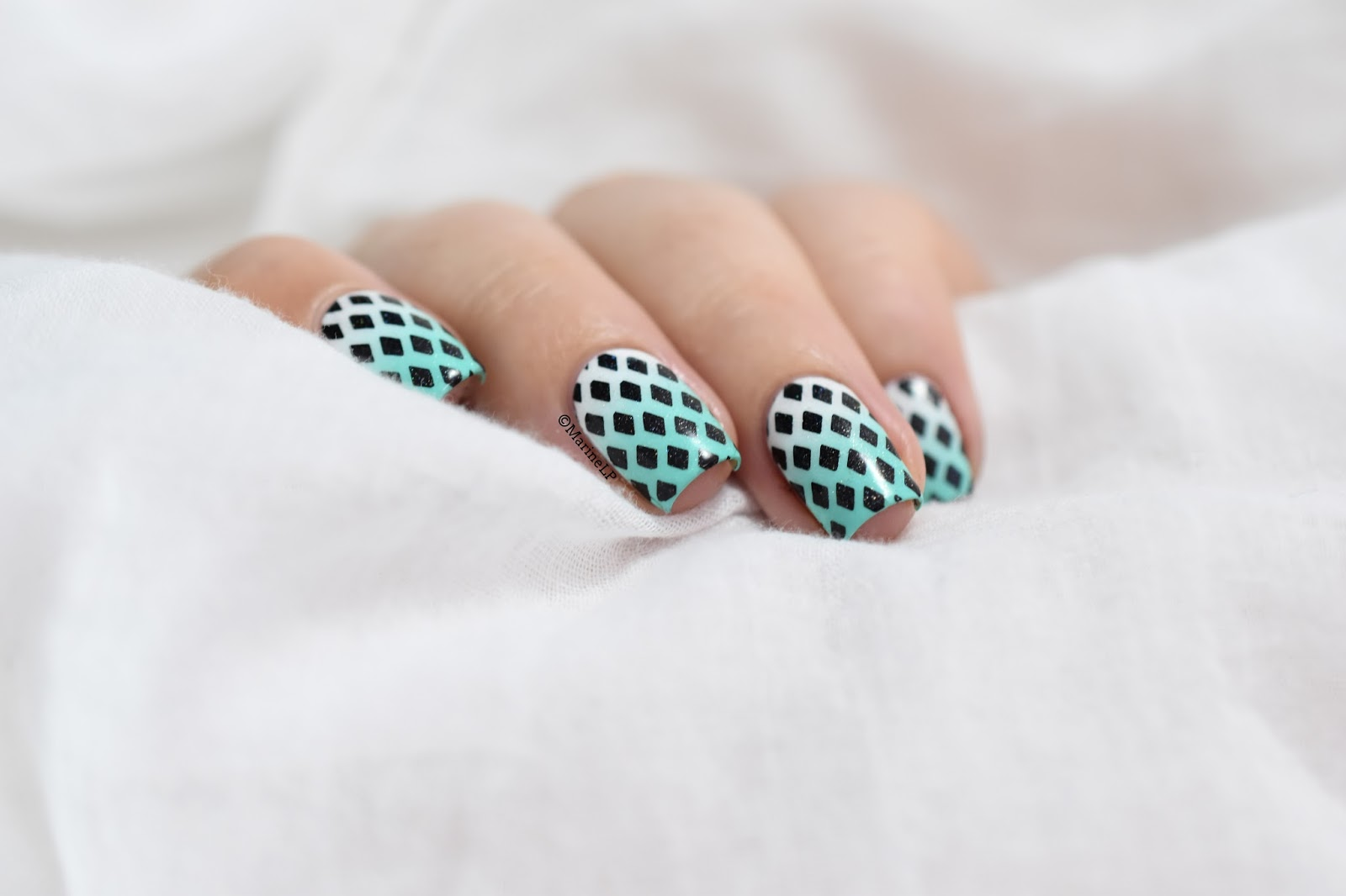 Nailstorming - Black and White | Vernis à ongles, Ongles