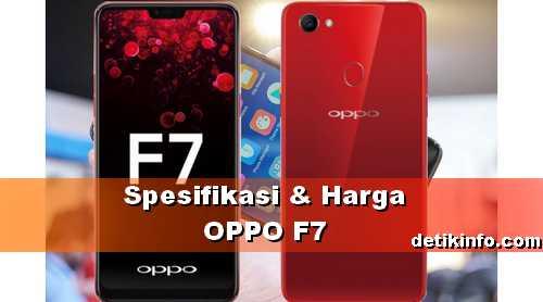Harga HP OPPO F7 di Indonesia