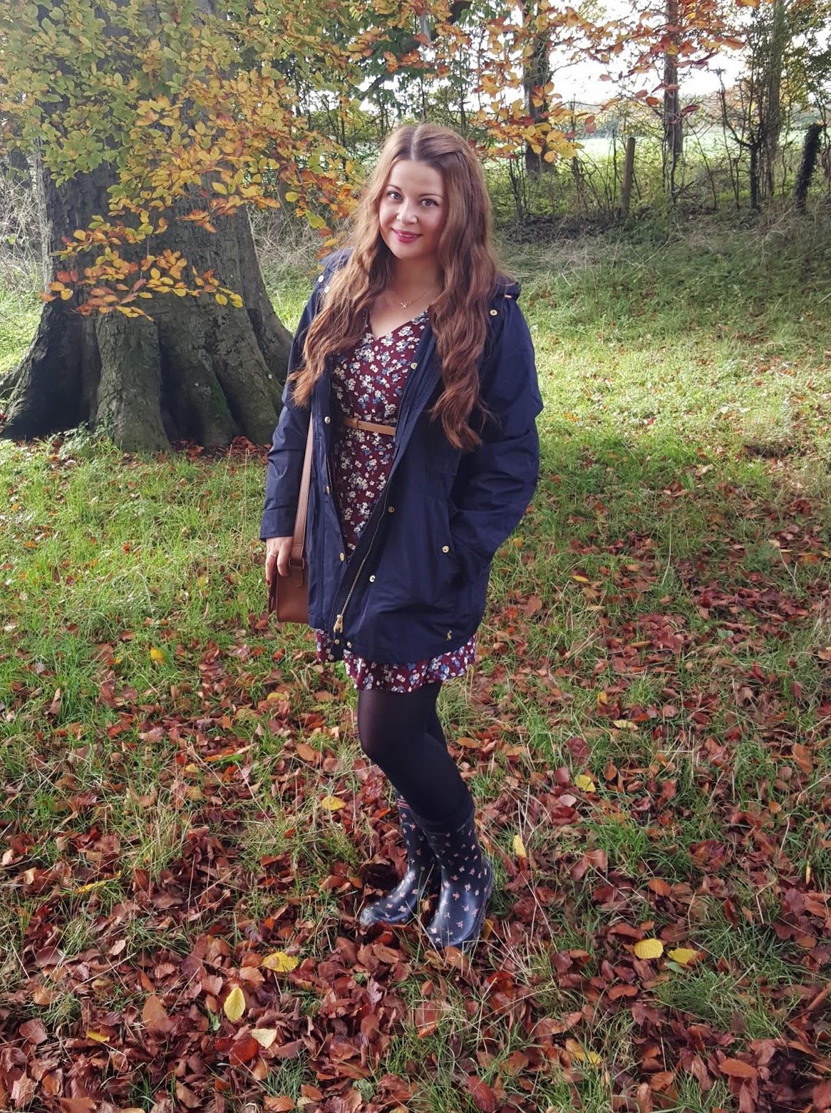 Autumn Walks With Joules Victorias Vintage Blog