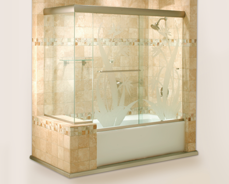 Cottage Series Sliding Shower Doors