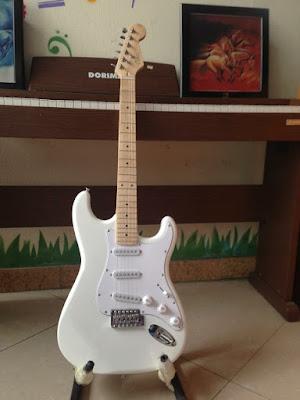 Đàn guitar điện Vines LG-1B WH