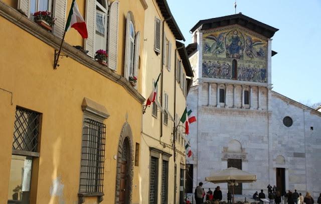 Informações sobre a Basílica de São Frediano em Lucca