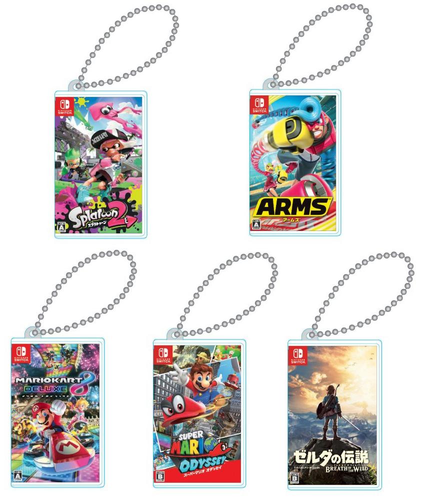 Portacartuchos en forma de caja de Nintendo Switch diminuta