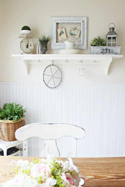 Spring Kitchen | Farmhouse Cottage Style