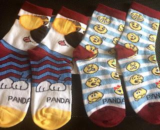 panda pal socks from sock panda in size small
