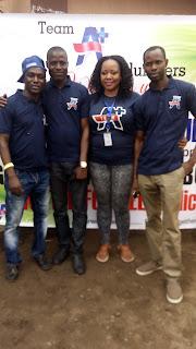 Team A+ Volunteer Group 1