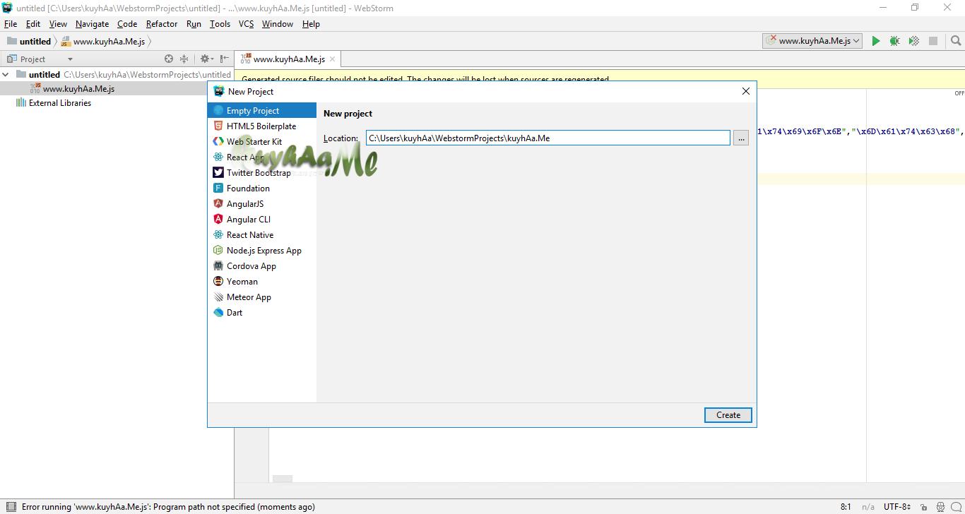 JetBrains WebStorm terbaru