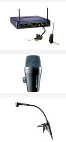 noleggio radiomicrofoni strumenti musicali