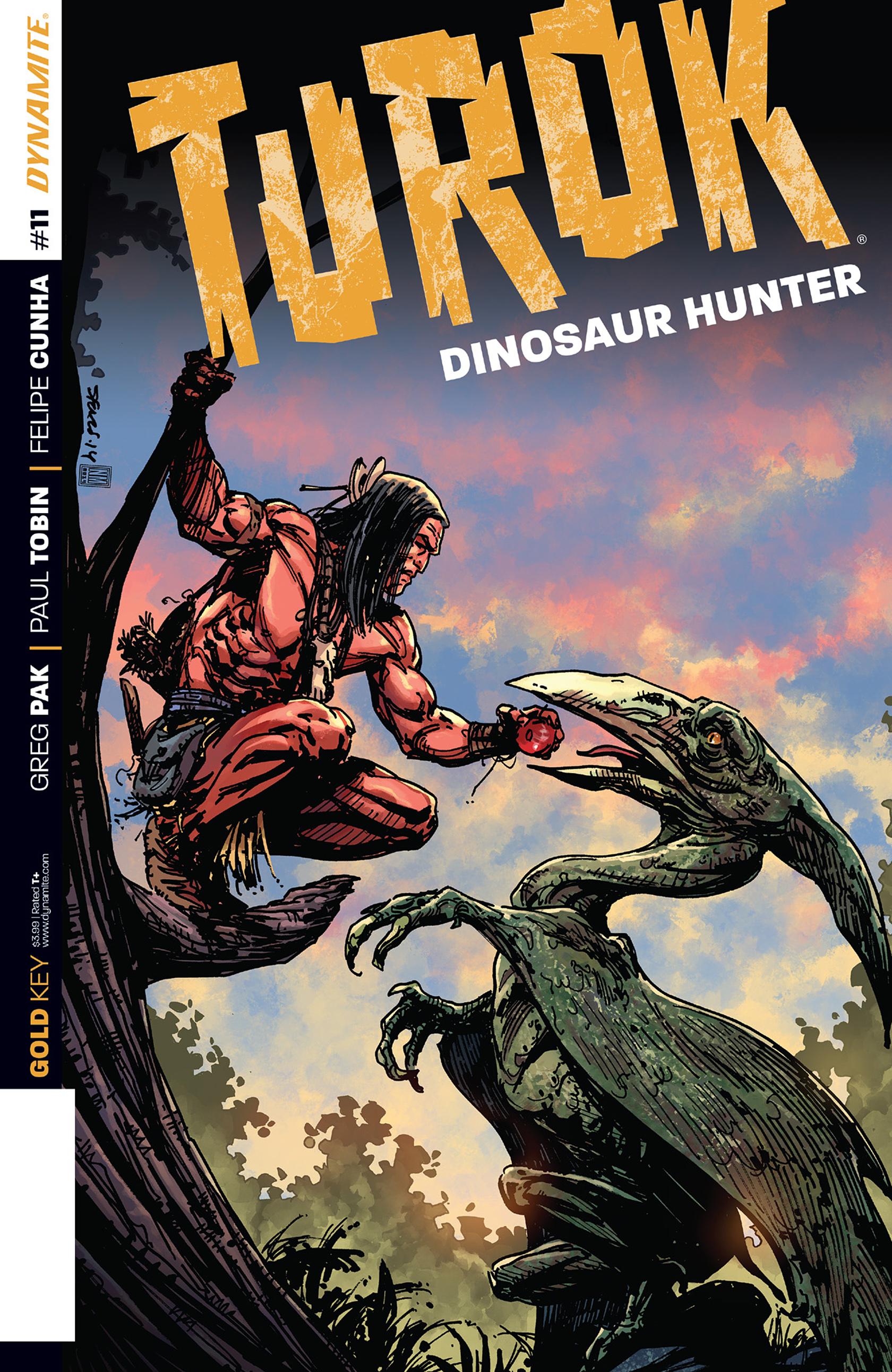Read online Turok: Dinosaur Hunter (2014) comic -  Issue #11 - 1