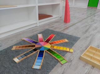 Las alfombras, manteles o tapetes se usan para delimitar el espacio de trabajo
