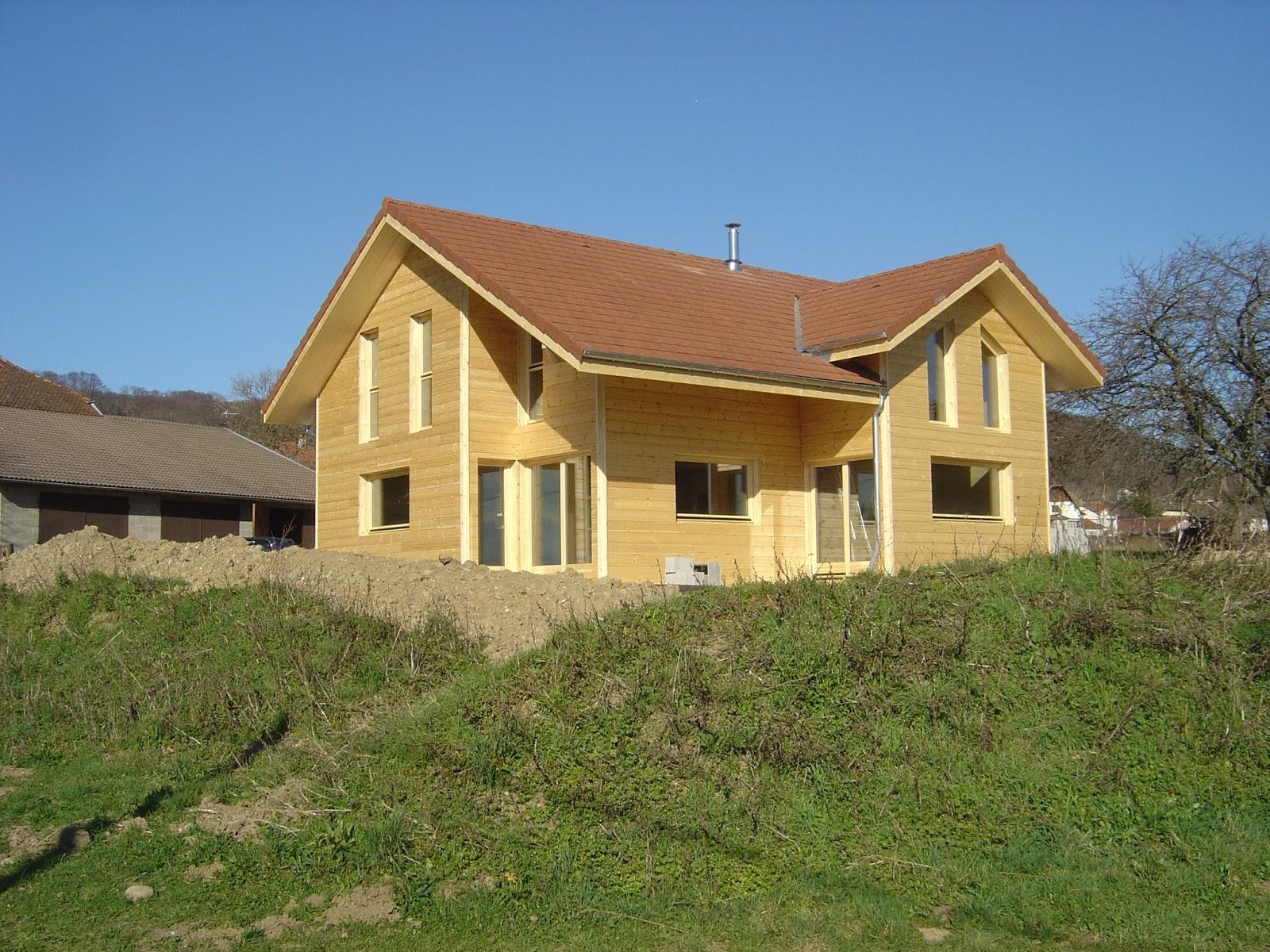 construction bois 38 maison ossature bois