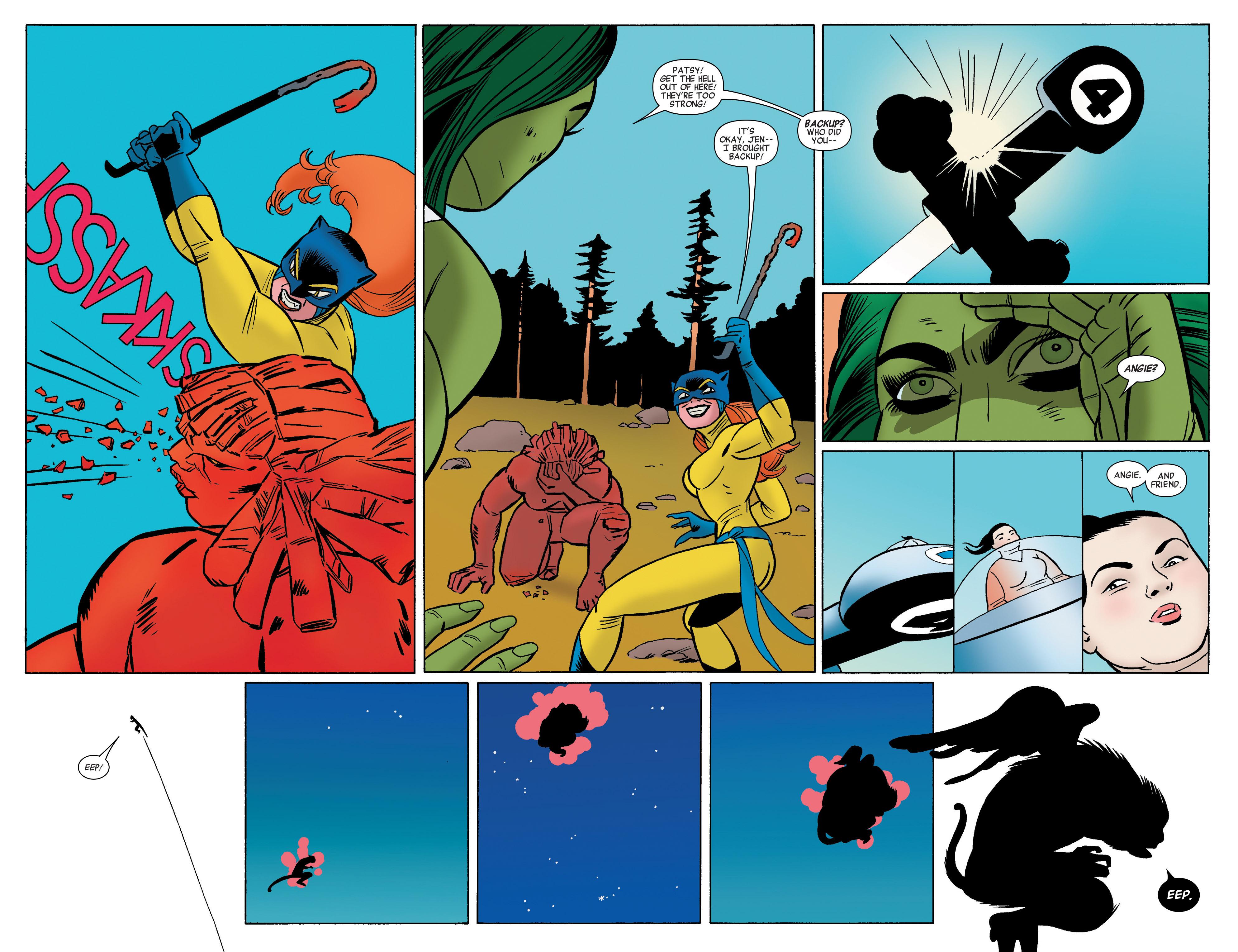 Read online She-Hulk (2014) comic -  Issue #11 - 10